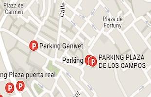 Parking plaza de los campos Granada