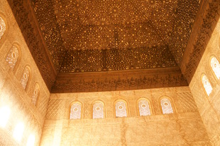 Ceiling Throne room Alhambra