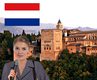 Alhambra Guided Dutch Tour