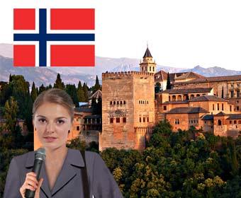 Alhambra Guided Norwegian Tour