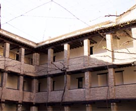 Corral del Carbon courtyard