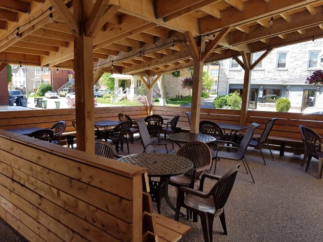 Woolwich Arms patio