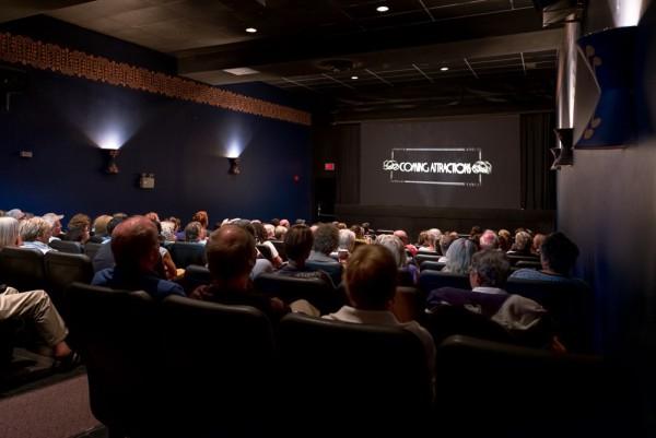 The Bookshelf Cinema