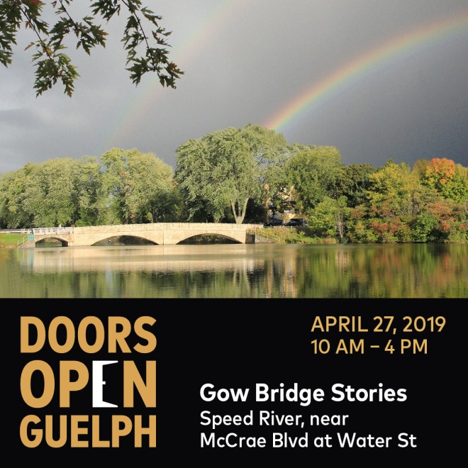 Doors Open Guelph: 8 Mini Tours, Choose Your Own Adventure