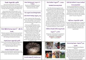 Hartland Potato Festival Information