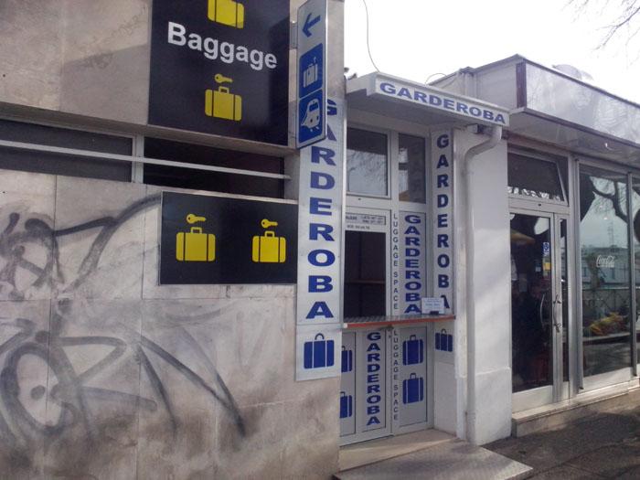 Luggage storage in Split