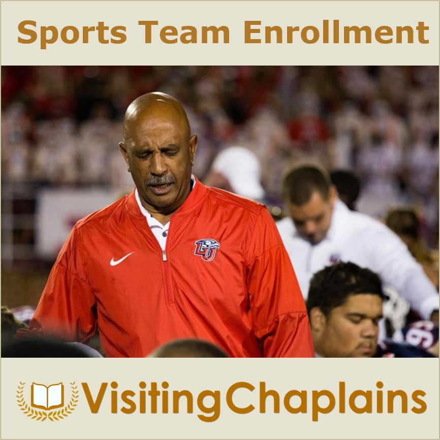 Enroll Your Sports Team with Visiting Chaplains