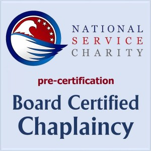 National Service Charity Board Certified Chaplaincy