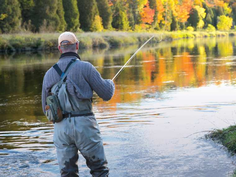 world class fishing for native trout, bass, and landlocked salmon