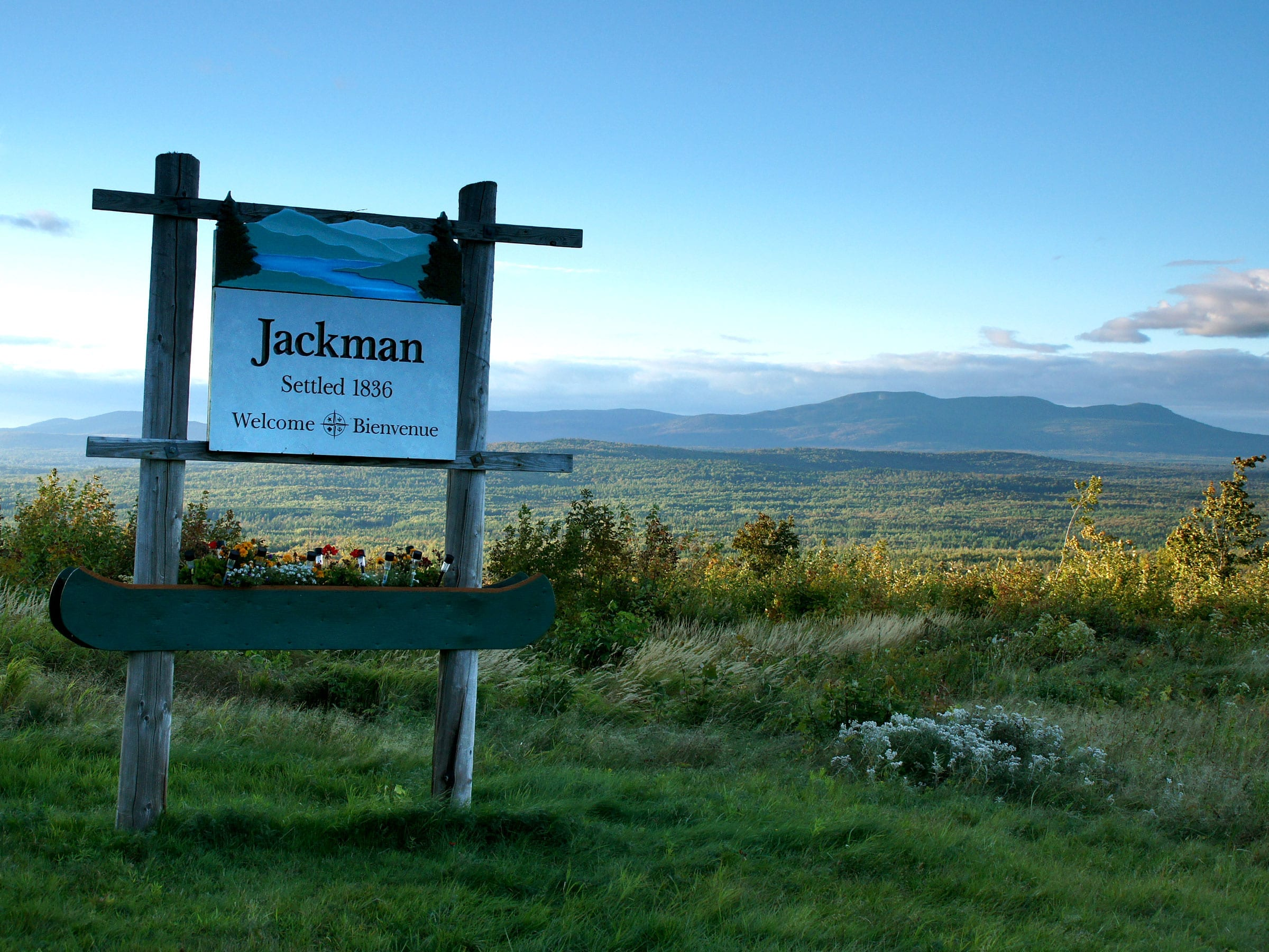 Maine's Kennebec Valley, Outdoor adventure, outdoor recreation, View from Jackman across the Moose River Valley