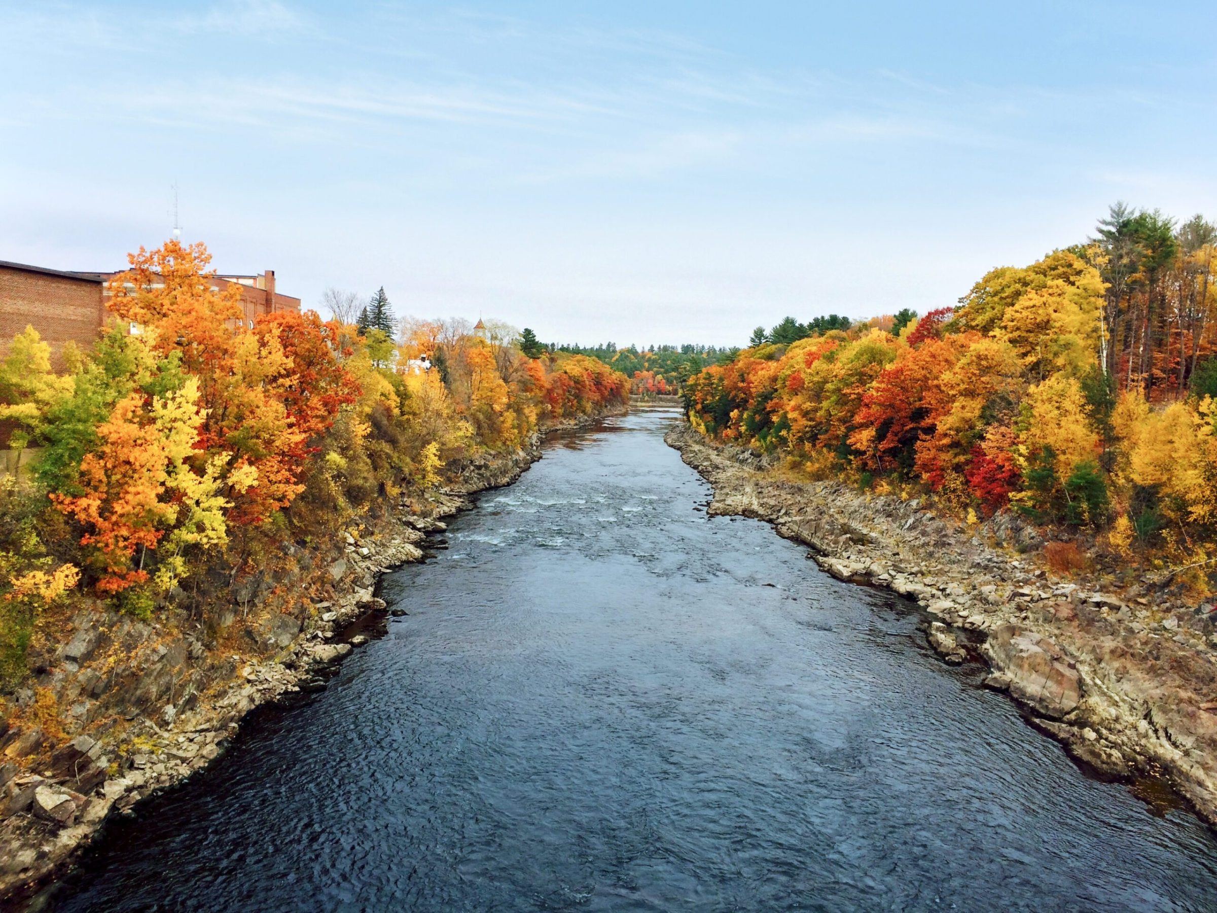 Kennebec River in Autumn