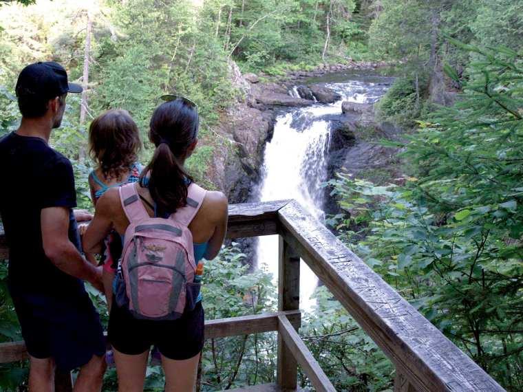 Moxie Falls, maine's KEnnebec Valley, waterfall, kennebc vally,