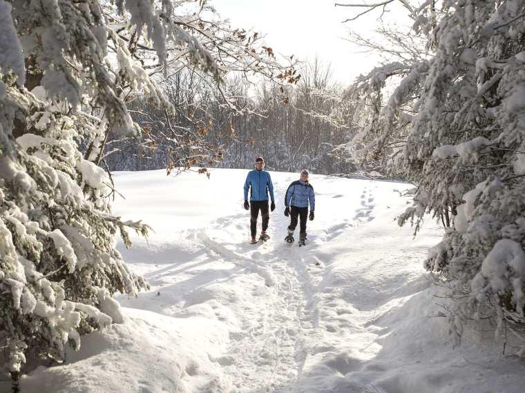 Snowshoeing Maine's Kennebec Valley Winter Adventure