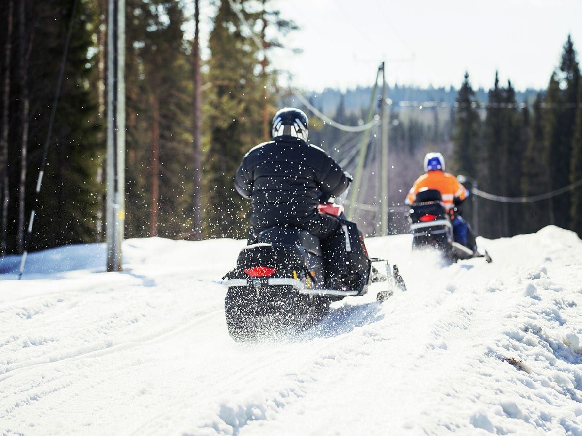 Snowmobile Services in Maine's Kennebec Valley