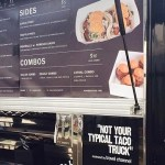 Komodo Food Truck Menu