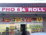 Pho 6 & Roll - Closed
