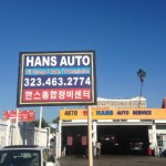 Hans Auto Service on Beverly