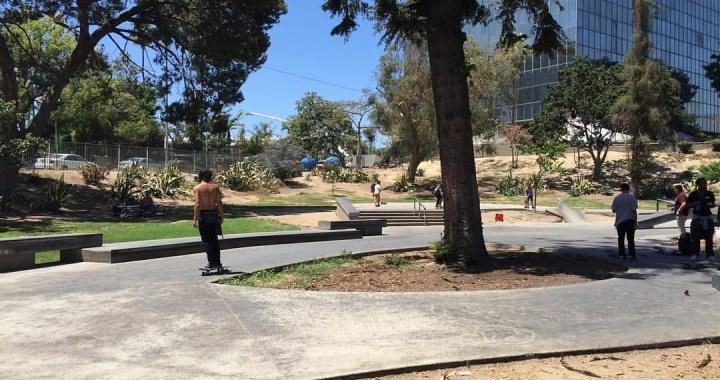 Lafayette Skate Plaza Los Angeles