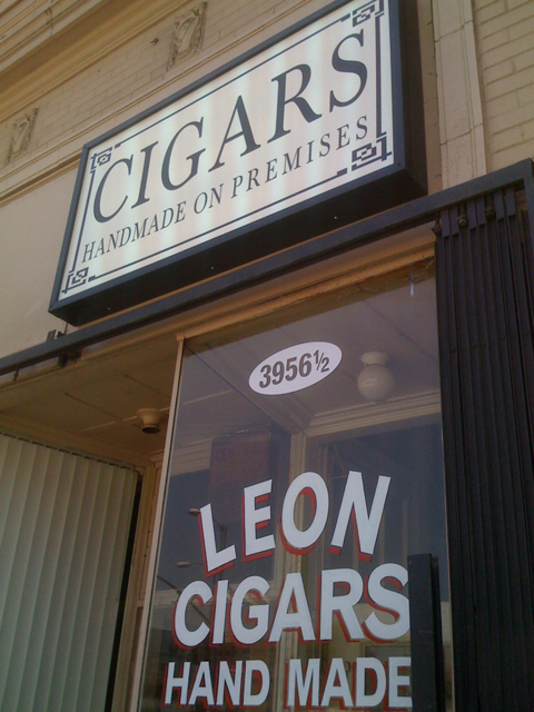Leon Cigars: Handmade on Premises
