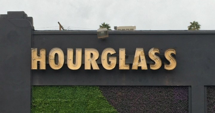 Hourglass in Los Angeles