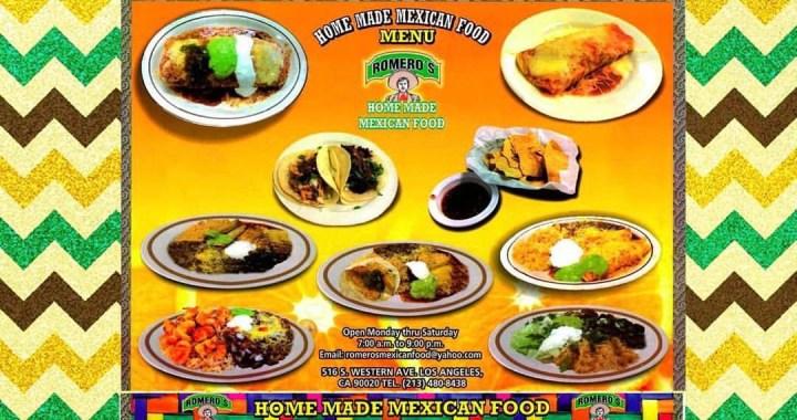 Romero's Mexican Food