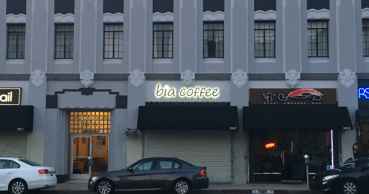 Bia Cafe in Koreatown LA