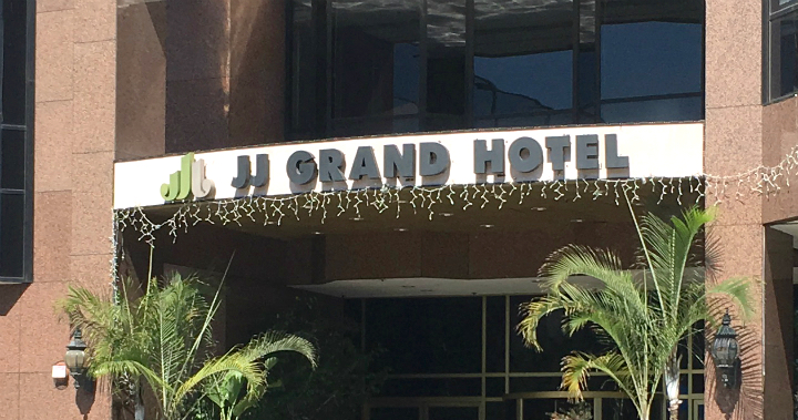 JJ Grand Hotel in Los Angeles