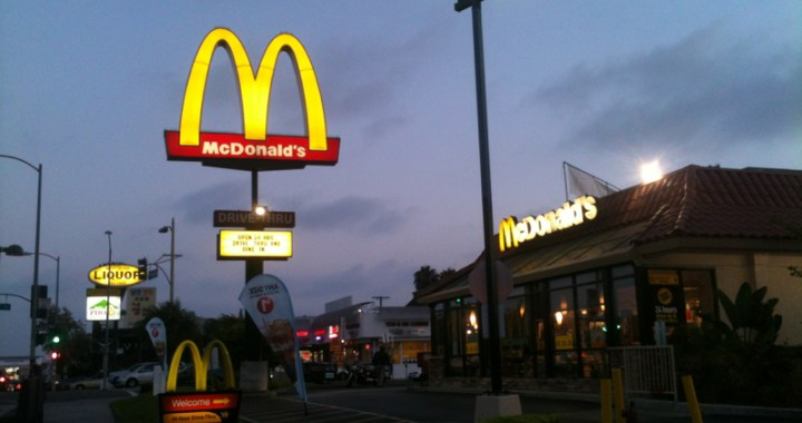McDonald's in Koreatown
