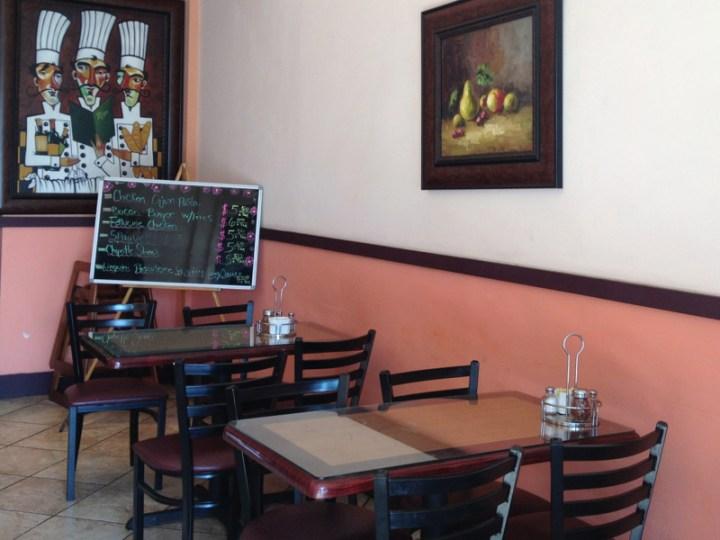 Melrose Cafe interior