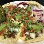 tacos from truck 8th Ardmore Koreatown LA