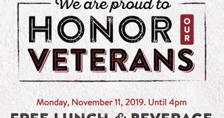 Veterans eat free at Sizzlers