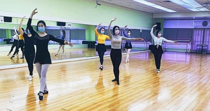 Adult ballet classes Los Angeles