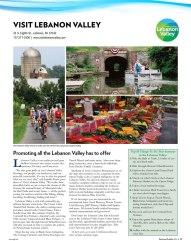Central Penn Business Journal, Business Profiles 2018 | Visit Lebanon Valley