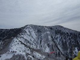 飯縄山《冬期》