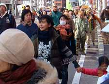 1st Anniversary of 3.11 Quake and Tsunami; March against Nuke