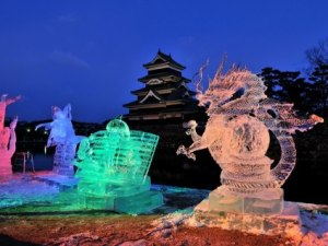 Matsumoto Ice Sculpture Festival:January 26th & 27th