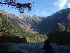2010/10/23 上高地紅葉情報