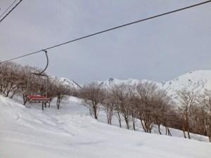 五竜岳 遠見尾根《冬期》