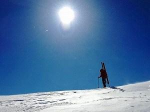 乗鞍 四ッ岳《厳冬期・山スキー》