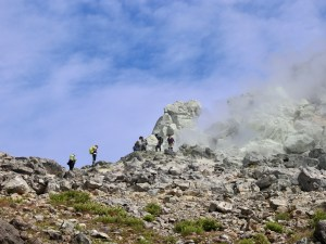 Mount Yakedake - Hiking an Active Volcano