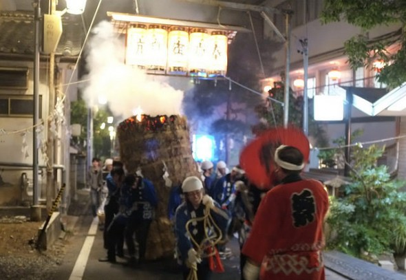 Asama Hot Springs Torch Festival: Night of Flames and Fun