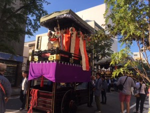 One of the butai floats