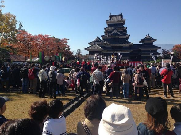 A Day of Samurai, Kendo, Taiko, and More at the Matsumoto Castle Festival