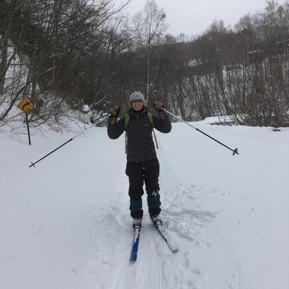 Nature Skiing in Norikura's Ichinose Area