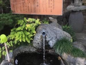 槻井泉神社と井戸