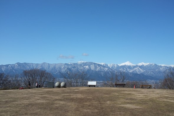 Awesome view of the Japan Alps from Alps Park