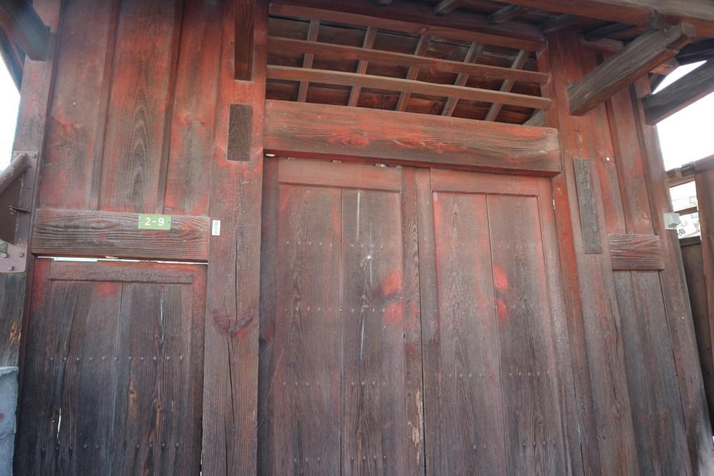 新井家の腕木門