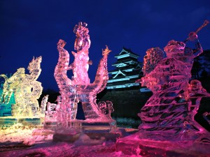 Matsumoto Ice Sculpture Festival