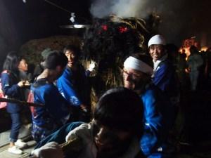 Festival des torches des sources thermales d'Asama