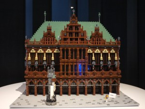 Piece of Peace World Heritage Exhibit Built with Lego Bricks